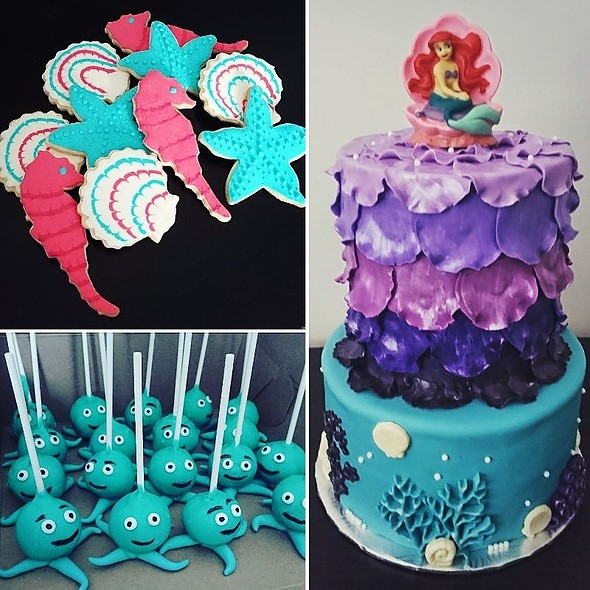 Mermaid Themed Desserts