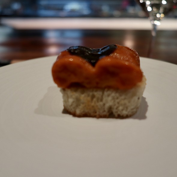 Hokkaido Uni with Black Truffle on Toasted Brioche