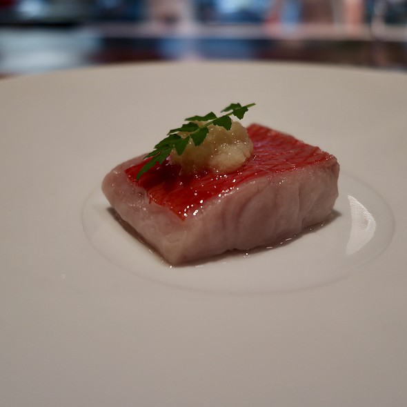 Kinmedai (Golden Eye Snapper) with Ginger