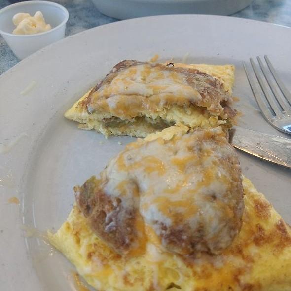 Chili Rellenos Omelette @ Carmen's Cafe Nicole