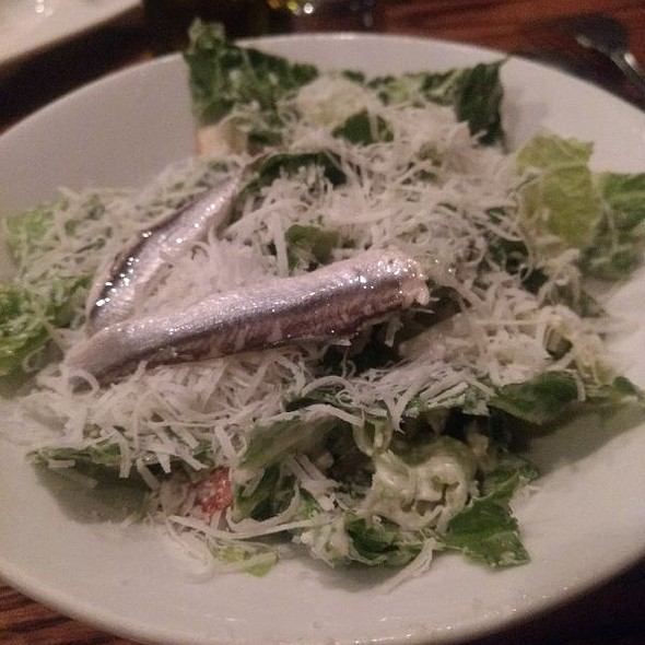 Caesar Side Salad With Anchovies @ Montano's Restaurant