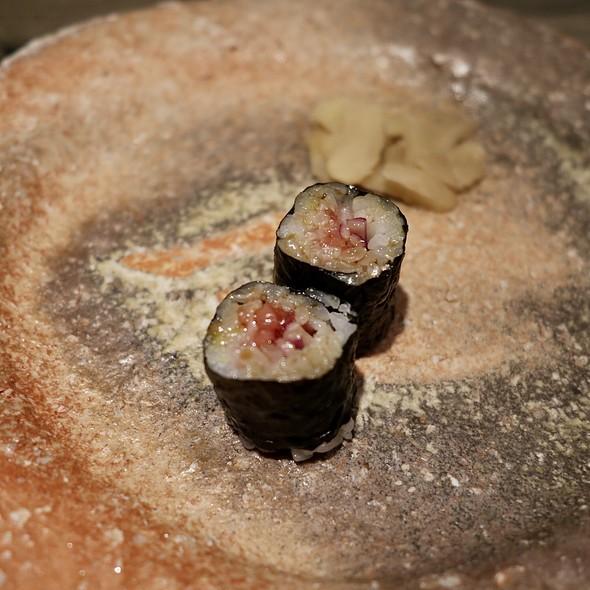 Japanese Bluefin Tuna Toro Tartar with Pickled Radish
