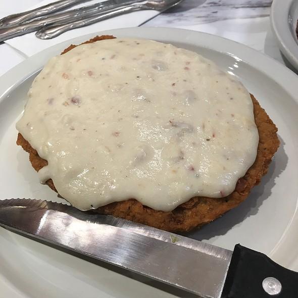 Chicken-Fried Steak @ Scrambl'z