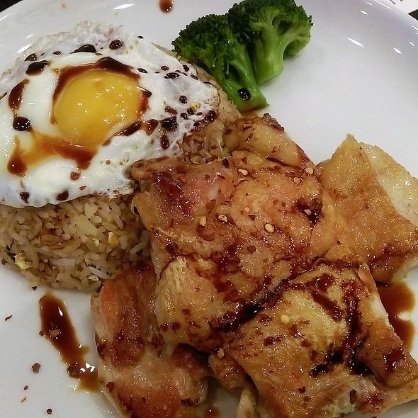 Nasi Goreng with Chicken on Rice