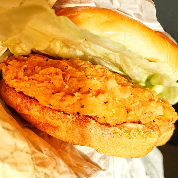 Spicy Chicken Sandwich @ Wendy's
