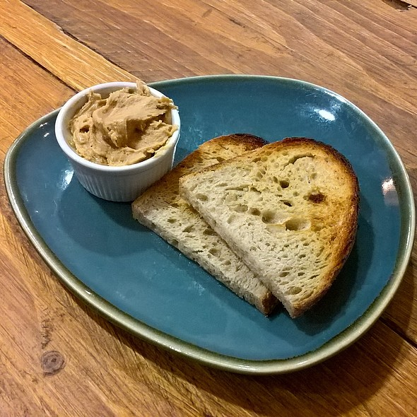 Sourdough Toast with Peanut Butter