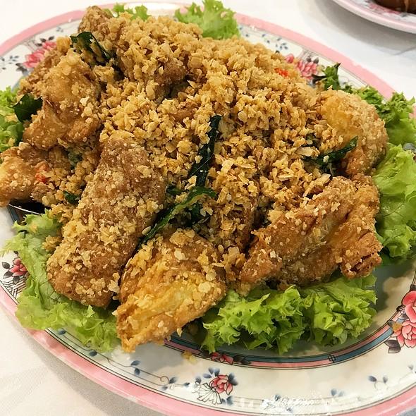 麦片豆腐 Golden Cereal Beancurd  @ 茗香菜馆 Beng Hiang Restaurant