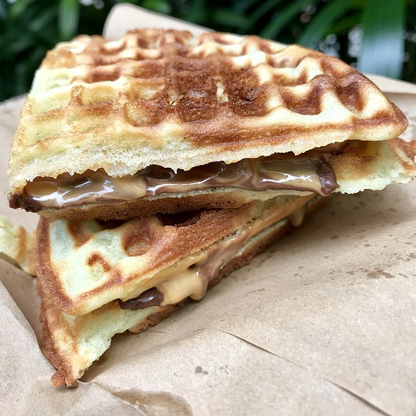 Chocolate Peanutbutter Waffle @ TRIPLETS by BAKERY CUISINE