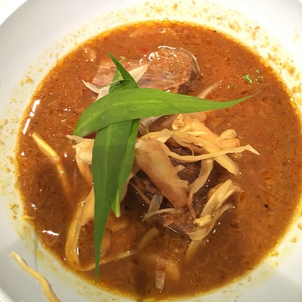 Ginger And Beef Cheek Curry