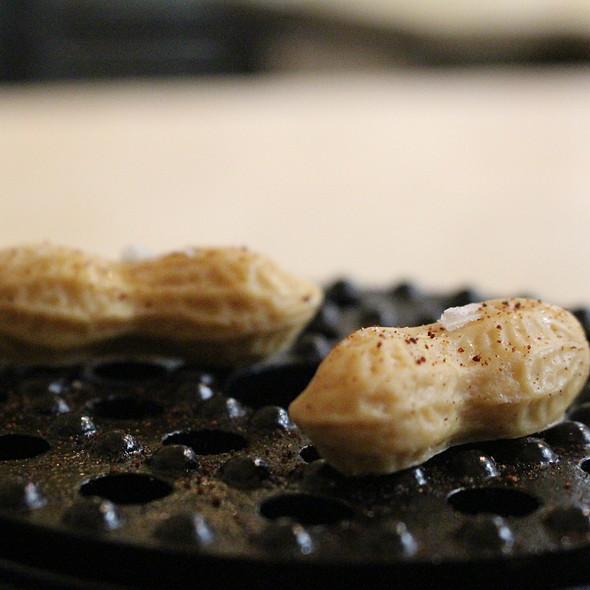 Amendoim com Kimchi @ Restaurante Belcanto