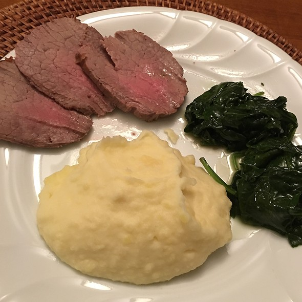 Steak And Potatoes @ Home