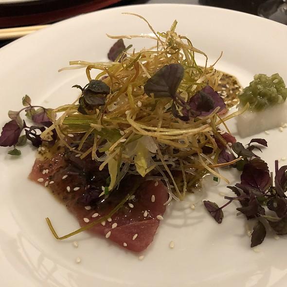 maguro no zuke @ Restaurant Sakai