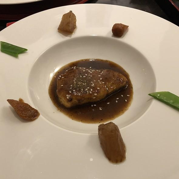 hamachi no steak @ Restaurant Sakai