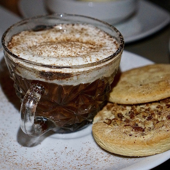 Fortua Chontalpa gran cru warm drinking chocolate, bizcochitos @ Santo