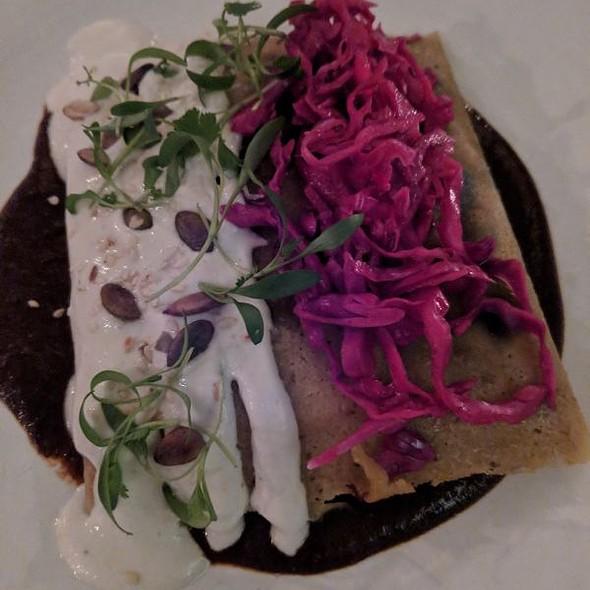 Wild Mushroom Tamale