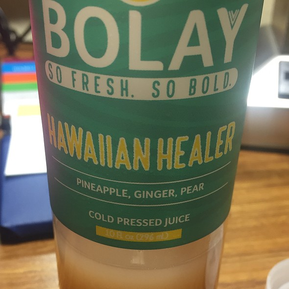 Cold Pressed Juice @ Bolay