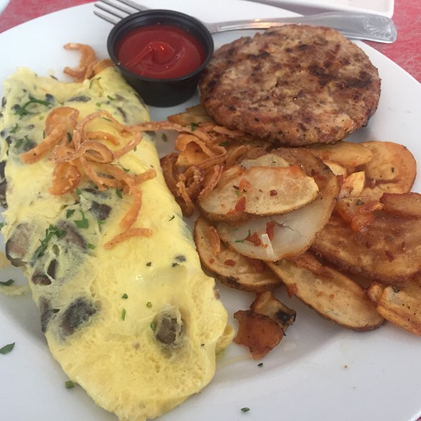 Wild Mushroom Omelette With Parmesan And Fresh Herbs