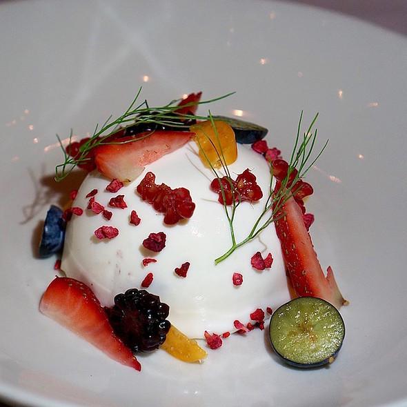 Torta Di Crema @ Frasca Food & Wine