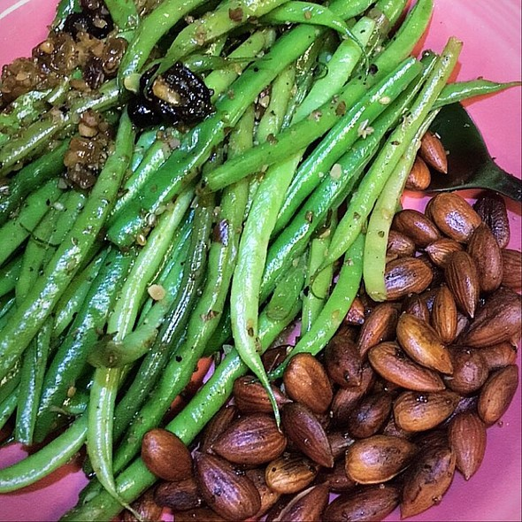 Green Beans Almondine @ My Third Home