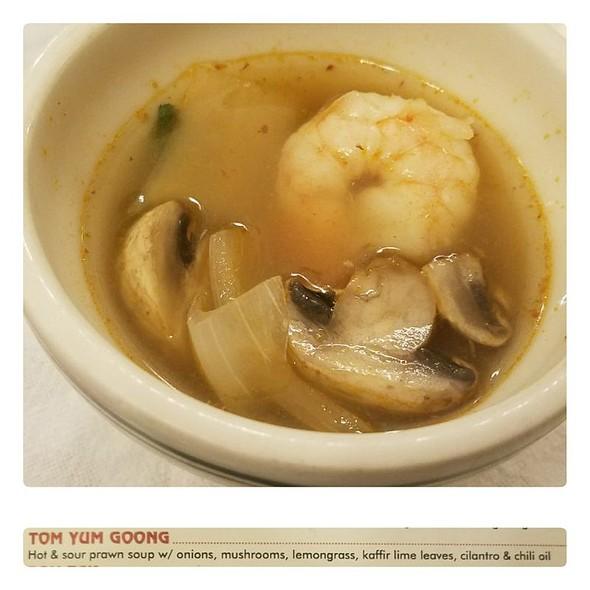 Tom Yum Goong @ Thai Satay Restaurant