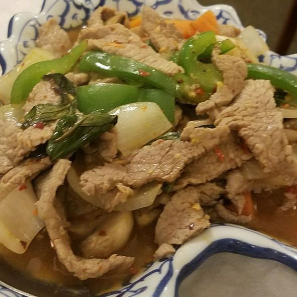 Basil Beef @ Thai Satay Restaurant