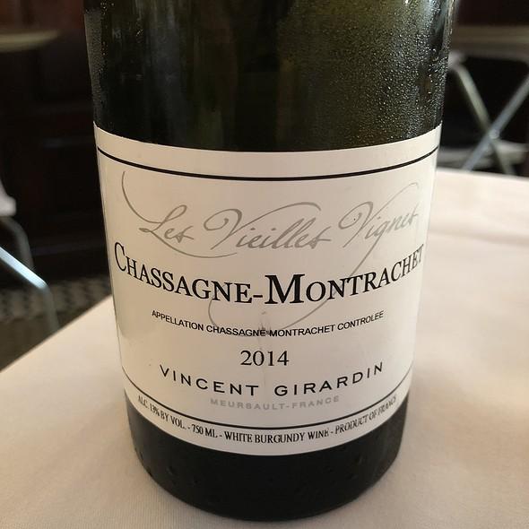 2014 Vincent Girardin Chassagne-Montrachet White Burgundy Wine