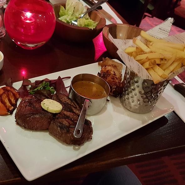 Rump Steak 8oz @ Miller & Carter Cardiff Thornhill