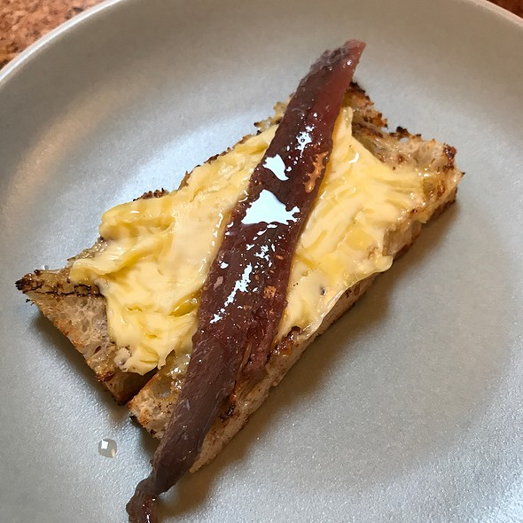 Anchovy And Butter Toast