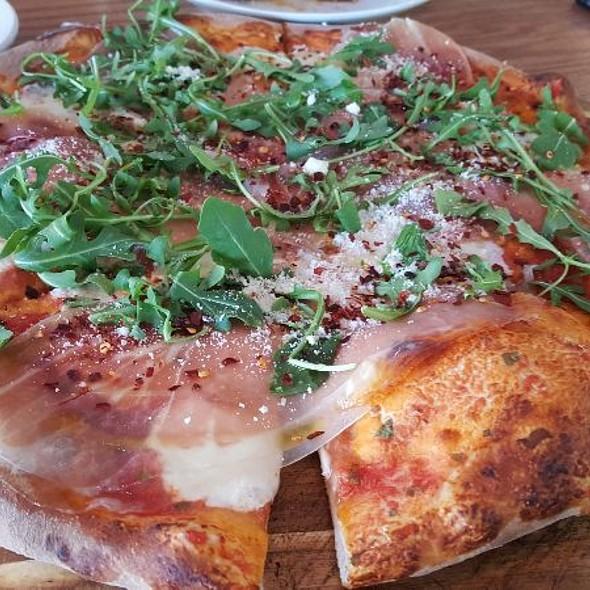 Proscuitto, Arugula & Mozzarella Pizza @ Mia Bella Trattoria