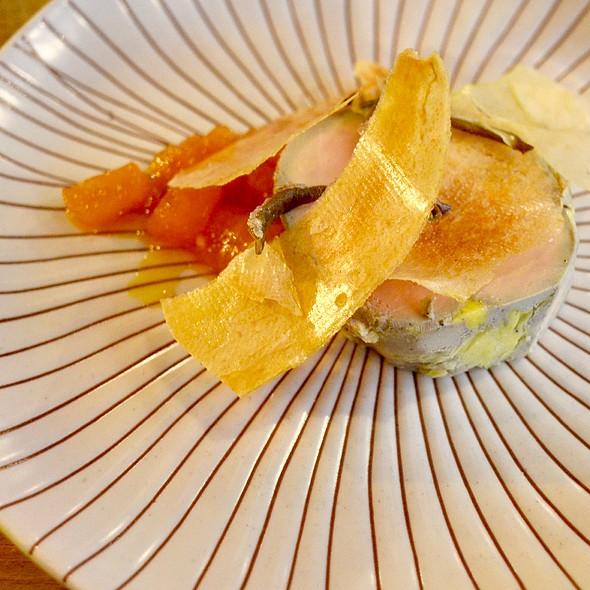 Foie Gras With Pear Crisps