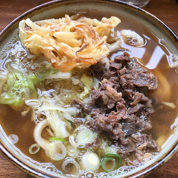 Beef And Tempura Udon