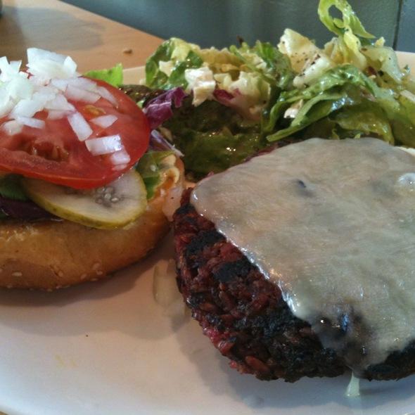 Northstar Veggie Burger @ Northstar Cafe The