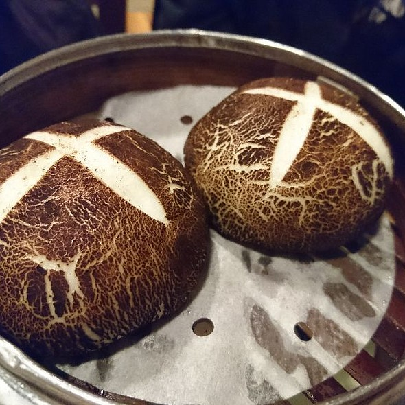Mushroom Bun With Taro Filling