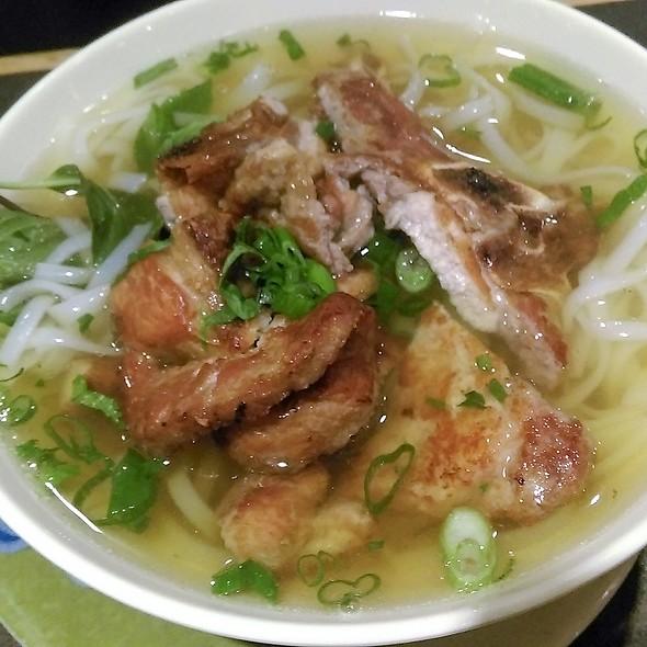 Lemongrass Pork Noodle Soup