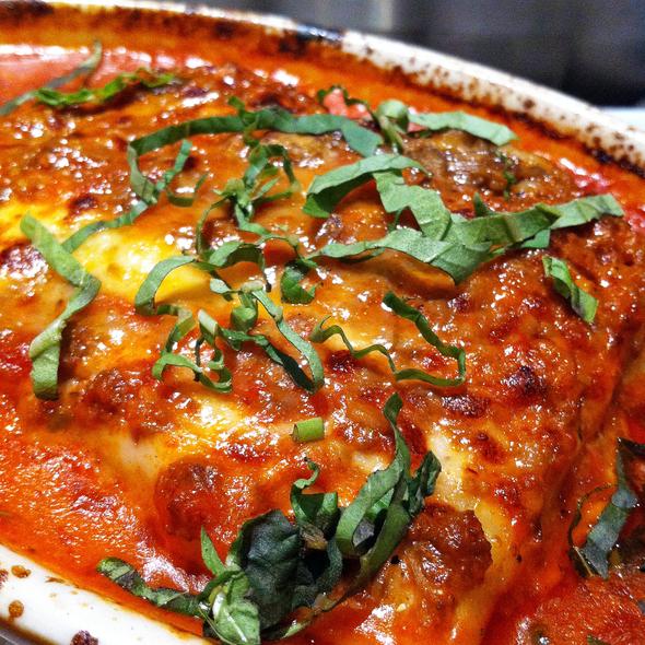 Meat Lasagna - La Strada Ristorante Italiano, Palo Alto, CA