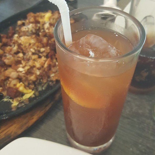 Iced tea @ Paellas Y Mas