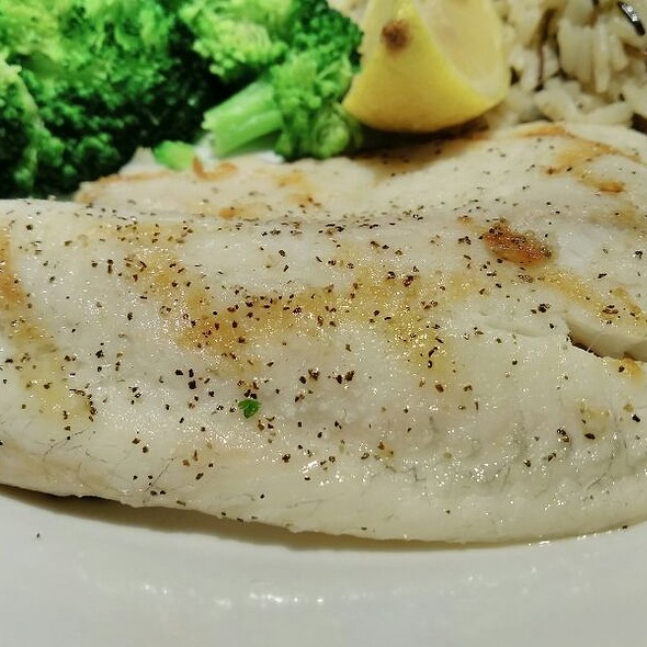 Wood-Grilled Tilapia