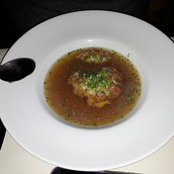 Cheese Dumpling Soup @ Schrammelbeisl