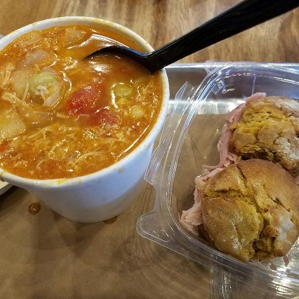 Brunswick Stew And Sweet Potato Biscuits