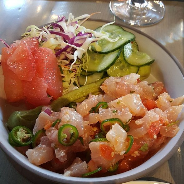 Snapper Ceviche @ Willie G's