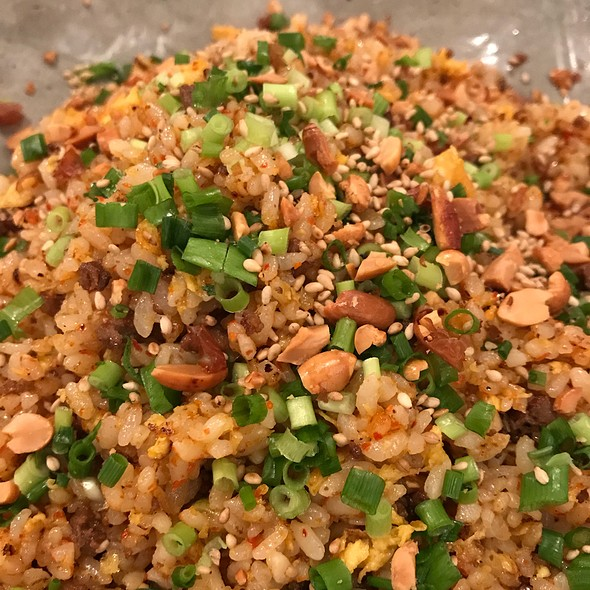 Spicy Nuts Fried Rice @ 虎萬元 南青山店