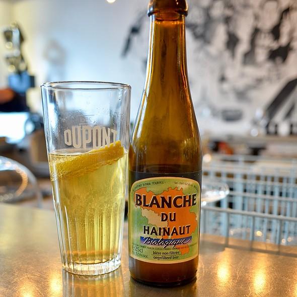 White beer @ Classico La Brasserie