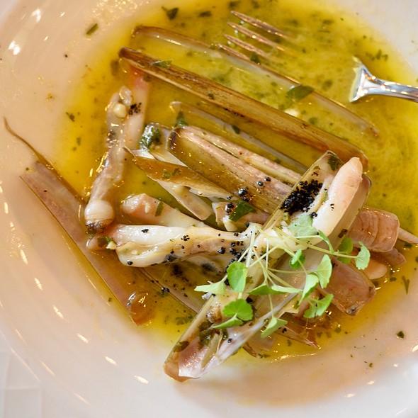 Razor Shells In Butter Sauce @ Classico La Brasserie
