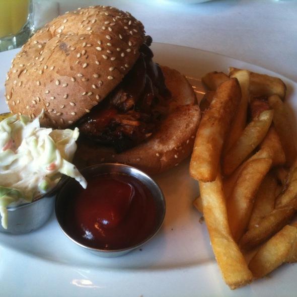 BBQ Pork Sandwich @ Jake's Grill