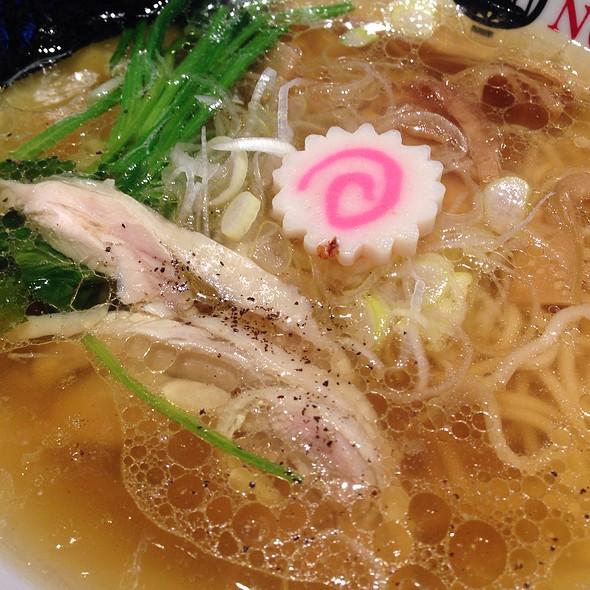 Ramen With Chicken  @ Tsujita Artisan Noodle