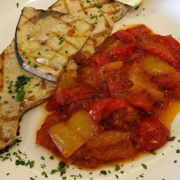 Pesce Spada Alla Griglia @ cafe restaurant groove