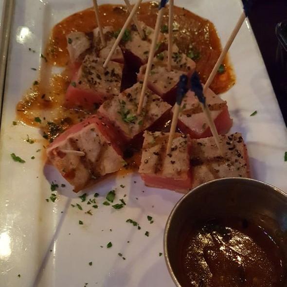 Ahi Tuna Bites @ The Rouxpour Restaurant & Bar - Sugar Land