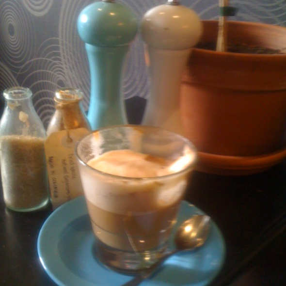 Soy Latte @ Proud Mary