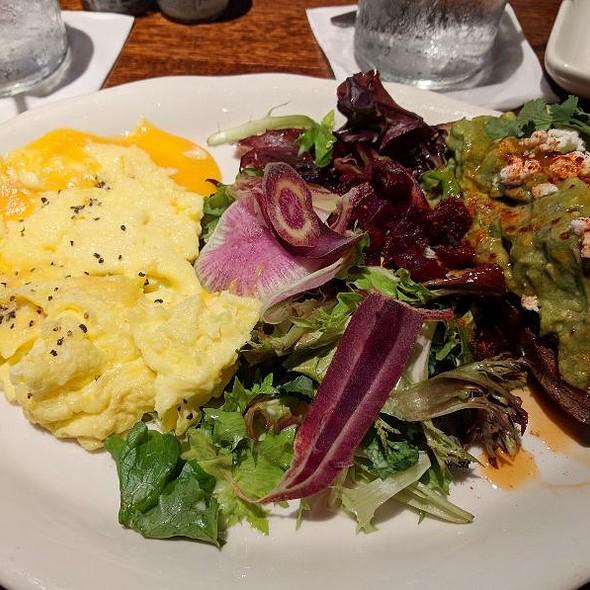 Avocado Toast & Scrambled Eggs
