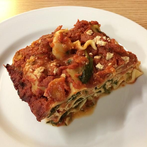 Vegan Lasagne @ Loving Hut